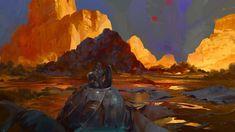Distant World, Halil Ural on ArtStation at https://www.artstation.com/artwork/EYW3n