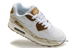 size 40 705ff 76643 Womens Nike Air Max 90 Shoes White Gold Camo,nike Free 5.0 Trainer,nike  Roshe Flyknit,best Value New Style
