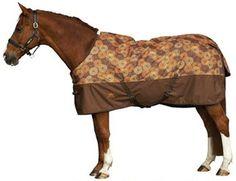 Saddles Tack Horse Supplies - ChickSaddlery.com Weatherbeeta Genero Cheddar Circles Standard Neck Medium Turnout Blanket