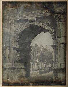 Arc de Titus 1842 Daguerreotype