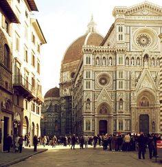 Firenze (Florence, Italy)  partial view of Il Duomo