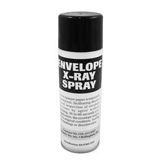 X-Ray Spray: Makes Envelopes See-Through For 30 Seconds. Nifty.