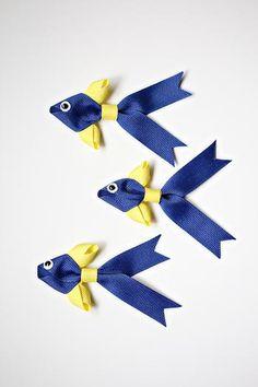 Бант-рыбка своими руками