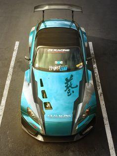 Honda S2000 livery design, Yasid Oozeear on ArtStation at https://www.artstation.com/artwork/honda-s2000-livery-design