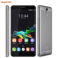 Original OUKITEL K6000 Pro Smartphone 6000mAh 5.5 inch Android 6.0 MTK6753 Octa Core 1.3GHZ RAM 3GB+ROM 32GB LTE Network 4G OTG