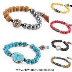 Gemstone Bracelets #bracelet #gemstone #jewelry #malabracelet