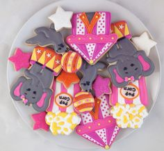 Circus Cookies Mixed Dozen - $42.00