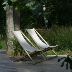 H 55 deck chair by Berga Form