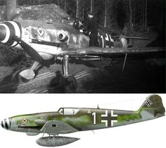 Me 109 K4