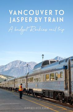 Travelling from Vancouver to Jasper by train: The budget alternative overnight rail journey thorough the Canadian Rockies with VIA Rail's The Canadian. Canadian Travel, Canadian Rockies, Train Travel, Solo Travel, Travel Packing, Travel Tips, Packing Lists, Travel Hacks, Travel Essentials