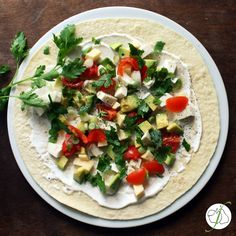Fructosearme Quesadilla mit Avocado und Mozzarella - ein wunderbar leckeres, vegetarisches Rezept aus Mexiko.