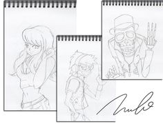 GUTZ energy drink character sketching Created by NAOKI STUDIOS Graphic design studio in Gold Coast
