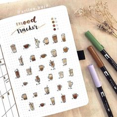 For all coffee lovers there 27 Bullet Journal layout ideas will inspire you to get planning right away and include this delicious beverage to your Bullet Journal setup right away. You can also check out my take on the Bullet Journal theme with my November Plan With Me video! #mashaplans #bulletjournal #coffeelover #bujoinspiration