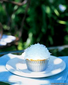 """See the """"Coconut-Topped Cupcakes"""" in our Our Easiest Cupcakes gallery"""