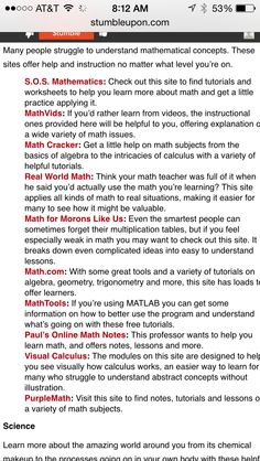 Great Websites, Mathematics, Worksheets, How To Apply, Concept, Learning, Math, Studying, Teaching