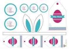 Tu Organizas.: 4 ideias de Páscoa DIY + etiquetas para impressão
