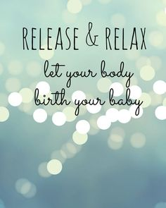 release and relax