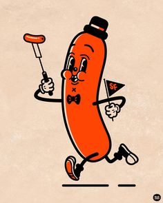 Sausage Fest Character Design Recently I was asked to design a Character/Mascot to be used for promotional items in the first annual Sausage Fest  happening this August in Halifax and surrounding areas.