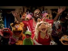 """All I Need Is Love"" music video, featuring CeeLo Green and The Muppets! Warning: watching may increase holiday cheer."