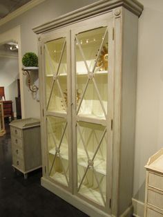 Loved This Swedish Cabinet And The Beautiful Details From Modern History Home Hpmkt