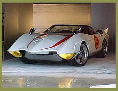 Mach 5 Car from Speed Racer