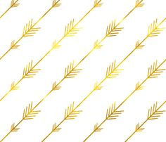 Gold Arrows Changing Pad Cover fit any standard changing pad (32x16x4)
