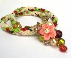 bead crochet jewellery