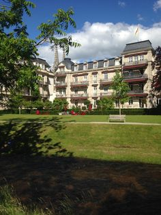 The fabulous Brenners Park Hotel and Spa in Baden-Baden, Germany. Sits along the Oos River and the Black Forest.