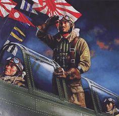 Pearl Harbor: Fuchida salutes as his level bomber prepares to take off