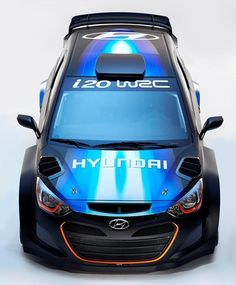 The Hyundai i20 WRC 2014