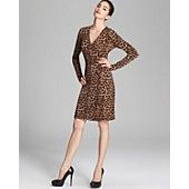 MICHAEL Michael Kors Animal Wrap Dress Bloomingdales $89.50