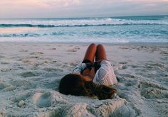 laying on the beach with the ocean breeze. The Beach, Beach Bum, Girl Beach, Summer Goals, Summer Of Love, Summer Pictures, Beach Pictures, Vsco Pictures, Summer Vibes