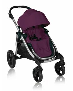 A purple stroller for a Mama with two boys.... PERFECT!  Don't forget the second seat (configured up to 16 ways)!!!!