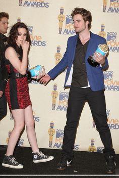 Robert Pattinson et Kristen Stewart,