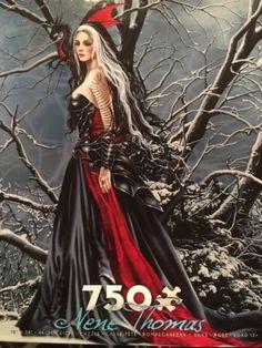 Shadows-amp-Snow-RARE-Nene-Thomas-NEW-Gorgeous-Dragon-Witch-Series-Jigsaw-Puzzle