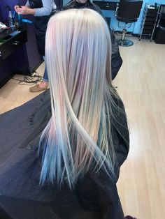 My holographic hair!