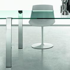 livingstone glass dining table tonelli