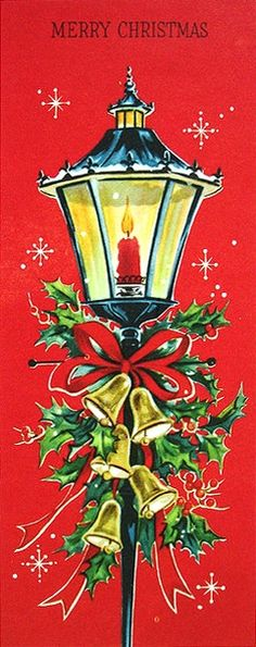 1960s christmas cards | Early 1960s Vintage Christmas Card. #vintage #Christmas #cards