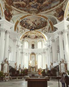 #Baroque #Neumann #Neresheim #stunning  (hier: Abtei Neresheim)