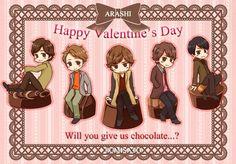 Valentines day, Arashi
