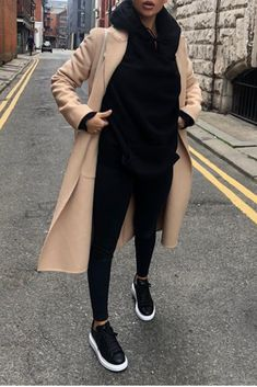 Casual Winter Outfits, Winter Fashion Outfits, Look Fashion, Fall Outfits, Autumn Fashion, Mode Outfits, Chic Outfits, Trendy Outfits, Sweat Noir