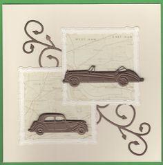 Simple male card using Marianne and Spellbinders Dies Marianne Design, Masculine Cards, Cardmaking, Simple, Making Cards
