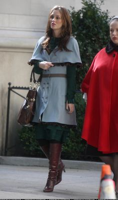 #blair #waldorf #queen #gg #leighton #diva #gossip #girl #season #two #2x11 #TheMagnificientArchibalds