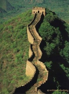 the great wall - amazing - would love to walk on this