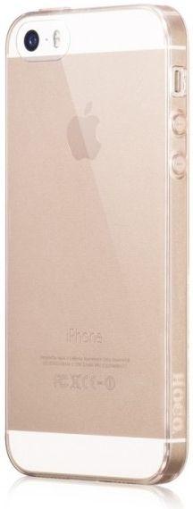 Pouzdro Hoco Apple iPhone 5/5S/SE Jelly Skin zlaté - 0