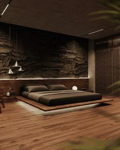 Modern Luxury Bedroom, Luxury Bedroom Design, Home Room Design, Dream Home Design, Luxurious Bedrooms, Bed Design, Black Bedroom Design, Master Bedroom Design, Home Decor Bedroom