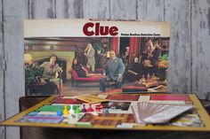 Vintage Board Game - Clue (1972)