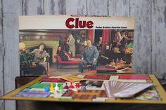Vintage Board Game - Clue (1972)