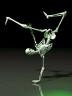 AmandaLK- 's sort album Skeleton Dance, Funny Skeleton, Skeleton Art, Halloween Gif, Halloween Skeletons, Animated Emoticons, Animated Gif, Gif Pictures, Reaction Pictures