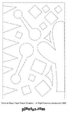 How to Make Papel Picado Free Printable Papel Picado Patterns